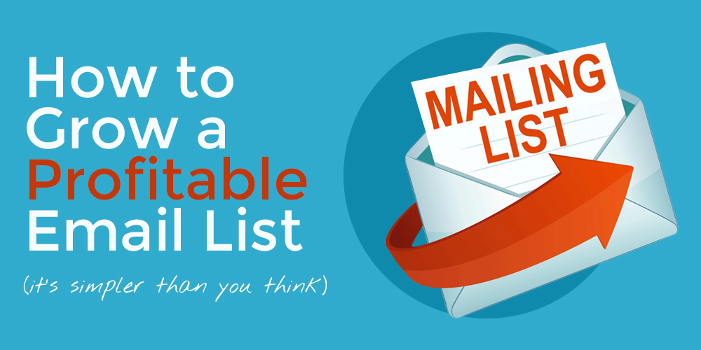 How to Grow a Profitable Email List