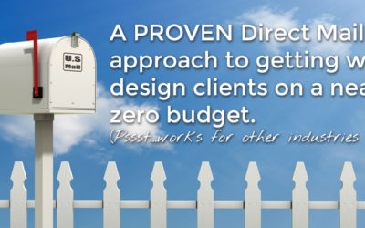 Using Direct Mail to Get Web Design Clients