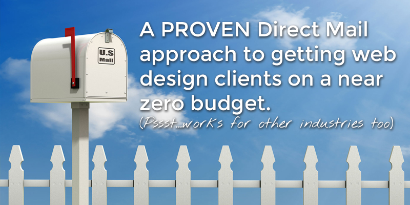 How to get Web Design Clients with Direct Mail