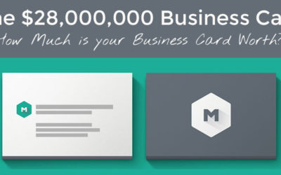 The 28 Million Dollar Business Card Design