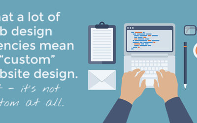 "When a ""Custom Website"" isn't custom at all. Evil Web Design Firms."