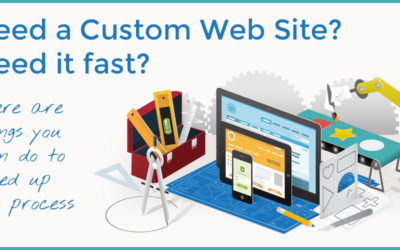 Custom Website built quickly? Here are some tips to get it done right.