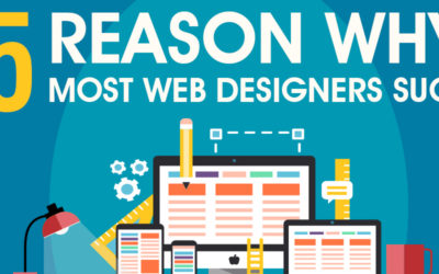 Why Most Web Designers Suck (Infographic)