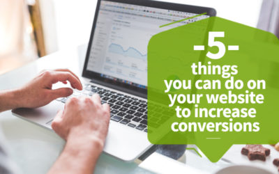 5 Things you can do on your website to increase conversions