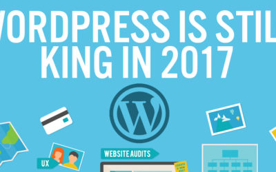 WordPress Statistics (WP is Still King for 2017) [infographic]