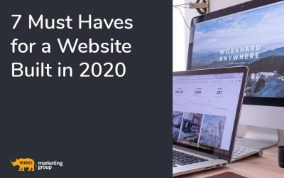7 Must haves for a website built in 2020