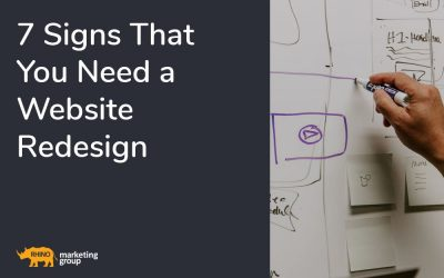 7 signs that you need a website redesign