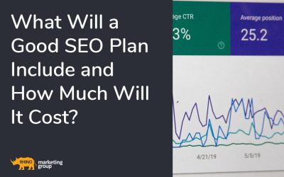 What will a good SEO plan include and how much will it cost?
