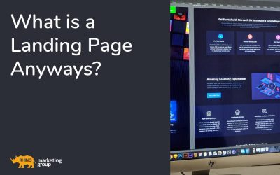 What is a Landing Page Anyways?